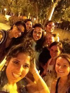 Selfie, Barcelona style